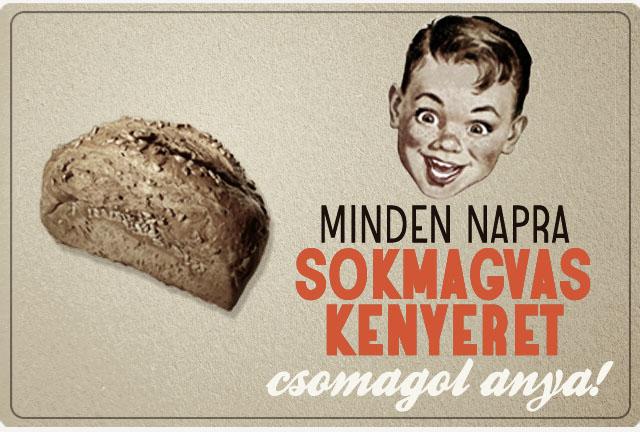 Sokmagvas kenyér