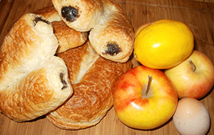 Almás-mákos búrkifli